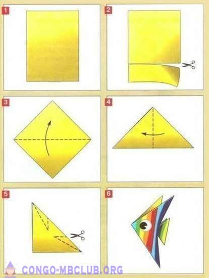 Kertas Origami Mudah Untuk Kanak