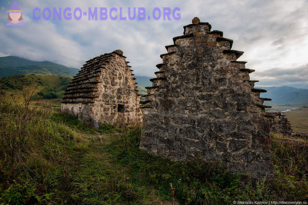 City of the Dead di Ossetia Utara-Alania